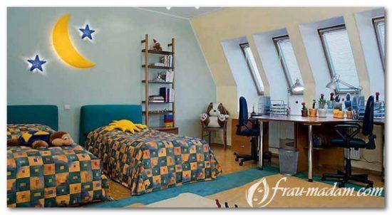 где разместить кровать для ребенка