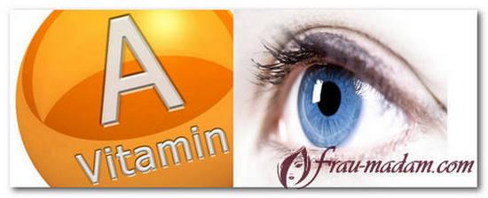 с чем принимать витамин A