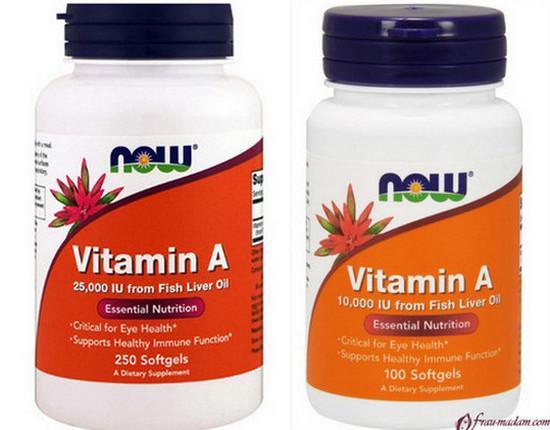 сколько нужно витамина А