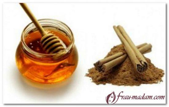 мед и корица маски