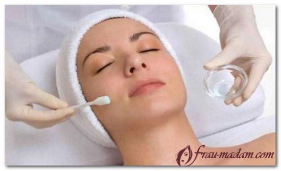 восстановление кожи лица после пилинга