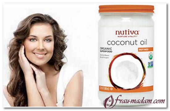 масло кокоса для волос и тела