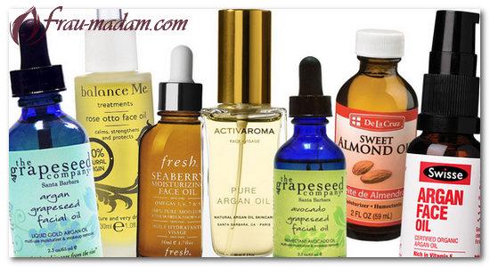 натуральные масла против крема