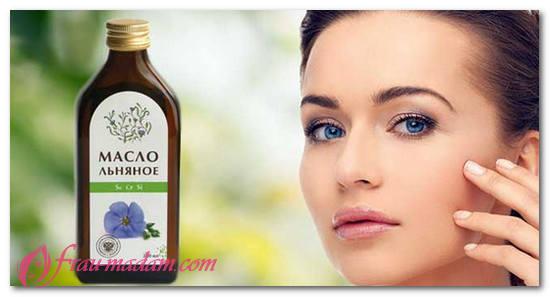 льняное масло - польза и вред, калорийность полезные вещества в льняном масле