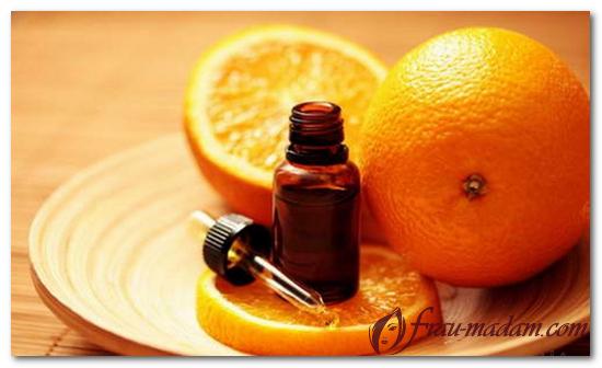 Применение апельсинового масла в ароматерапии