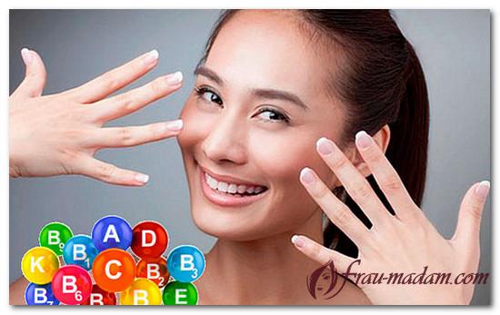 Витамины и минералы для укрепления ногтей