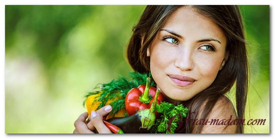 овощи и фрукты для кожи лица