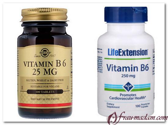 витамин в6 и магний кальций