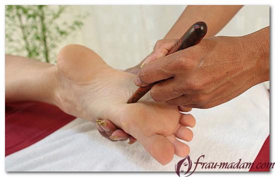 массажные правила для ног и ступней тайский массаж